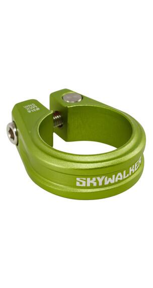 Sixpack Skywalker Sadelklemme 31,8 mm grøn